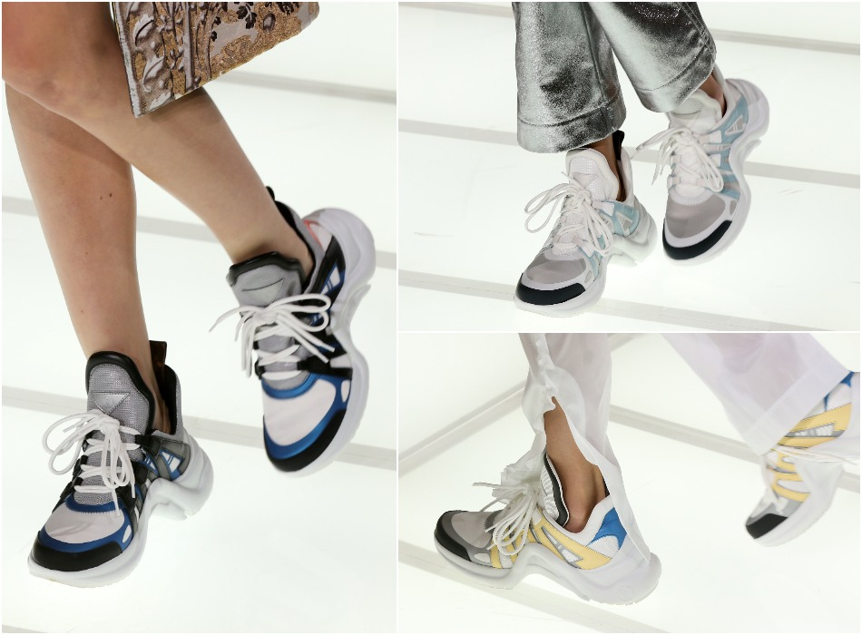 LV SS18 archlight sneakers