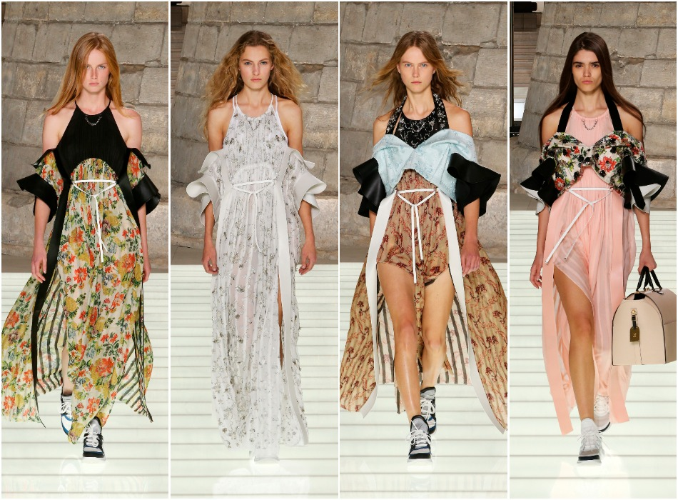 LV SS18_flowing dresses