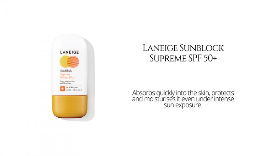 Laneige Sunblock Supreme SPF 50+