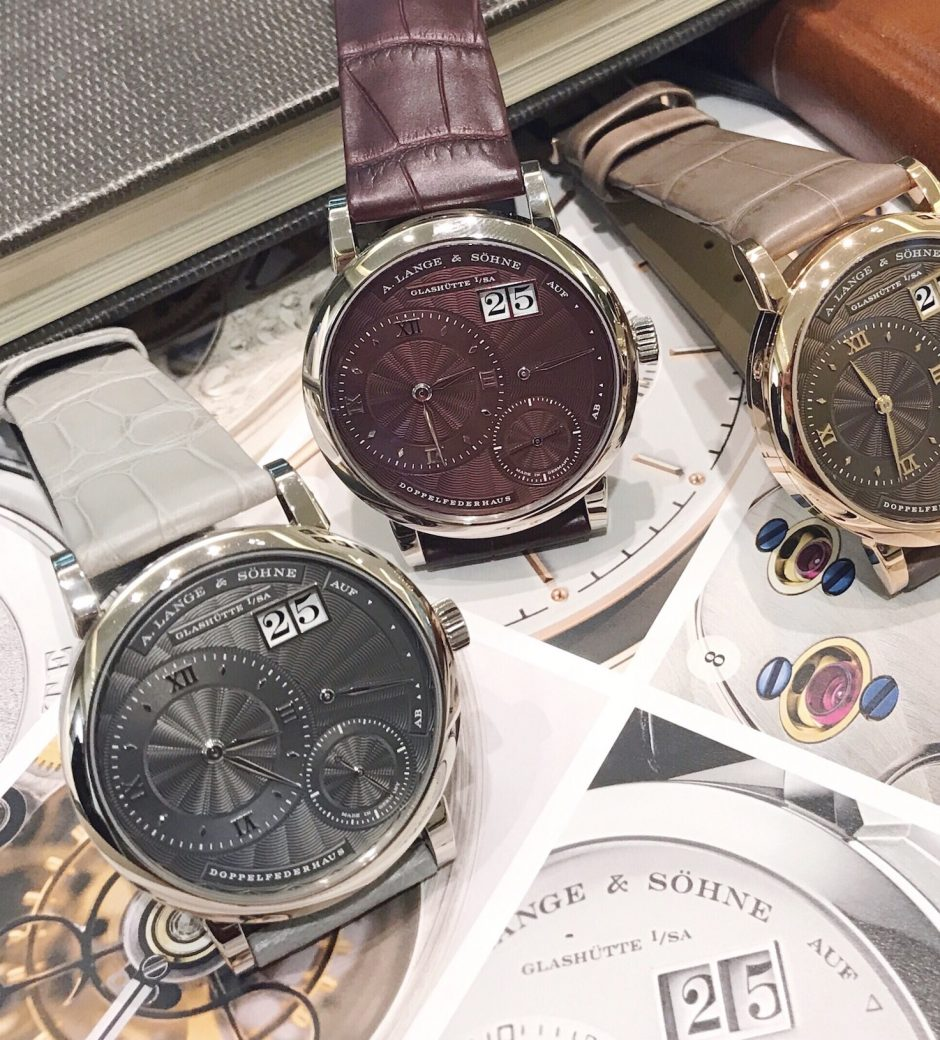 A. Lange & Söhne: That Little (Lange 1) Time for the Lady