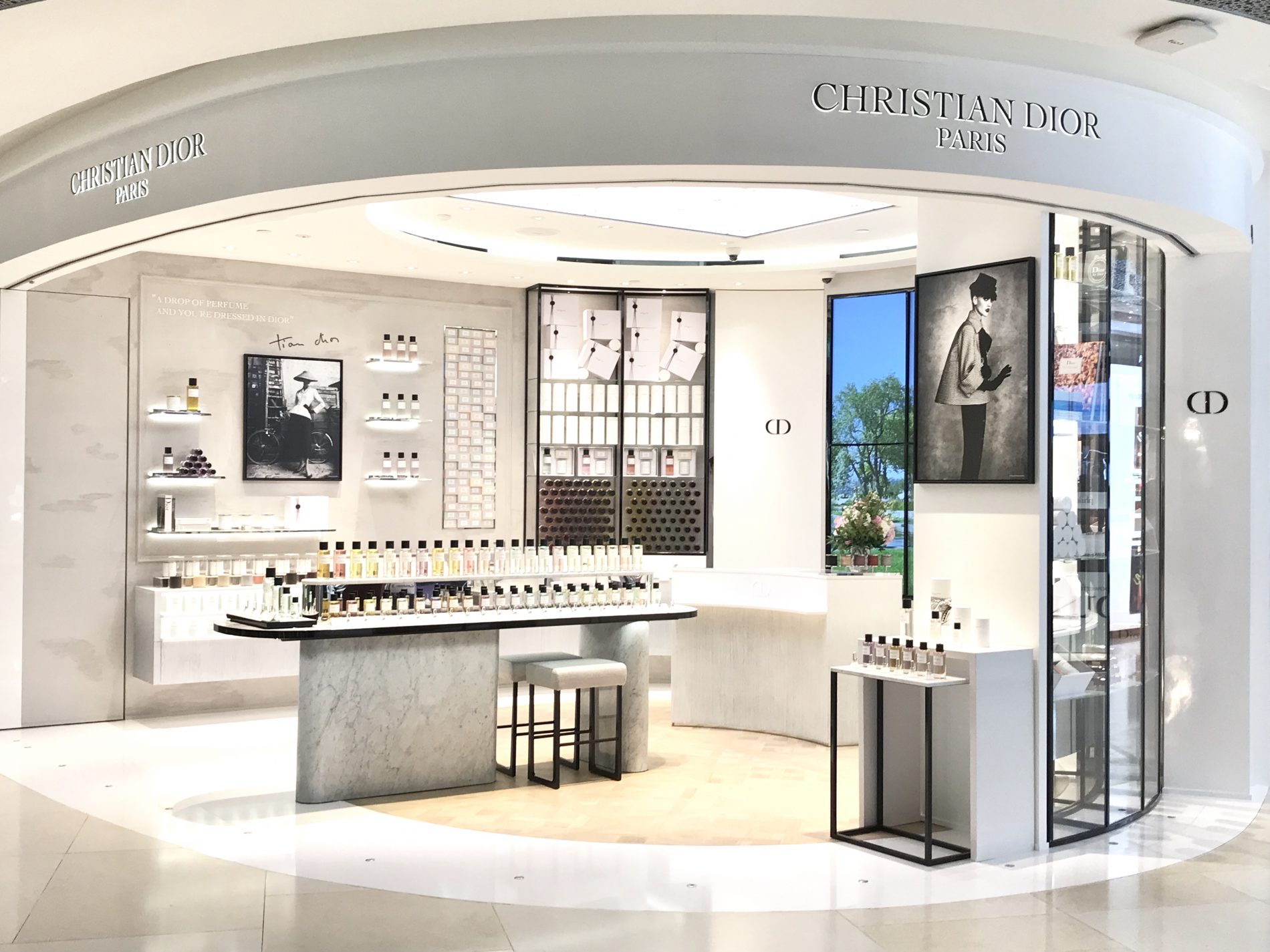 maison christian dior opens in singapore curatedition