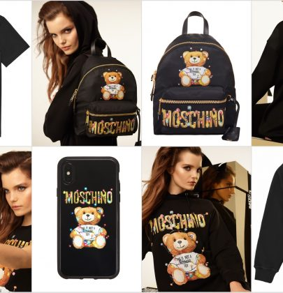 Moschino: Have yourself a Merry Teddy Christmas Day