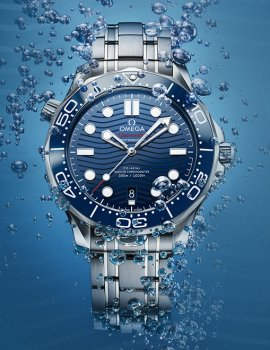Omega Seamaster 300M: Making Waves
