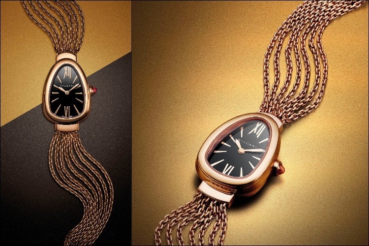 Serpenti 18k rose gold bracelet_Twist Your Time_Baselworld2018