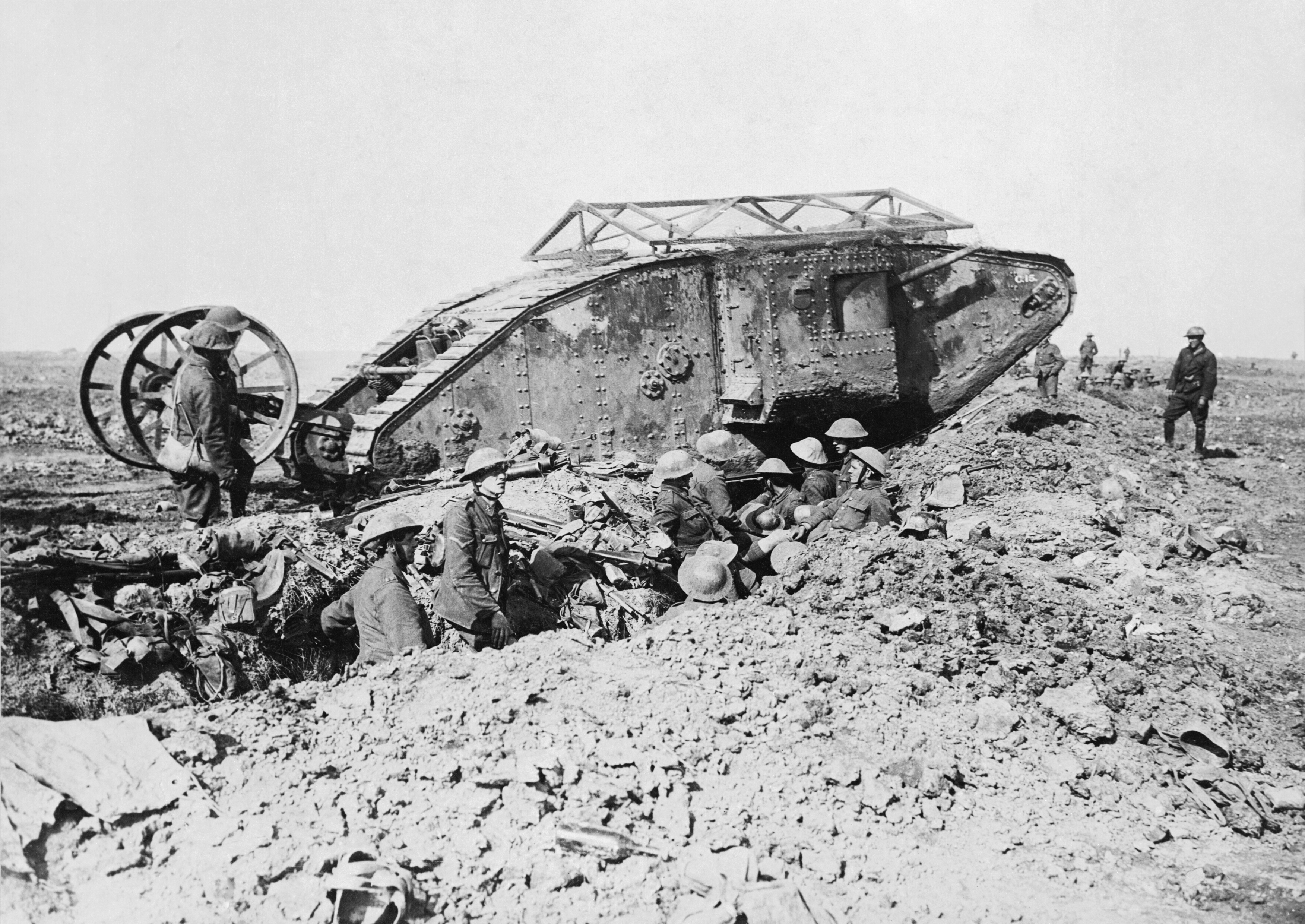 British Mark I tank_curatedition